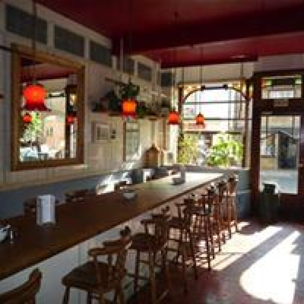 Inside Oliver's Coffee House